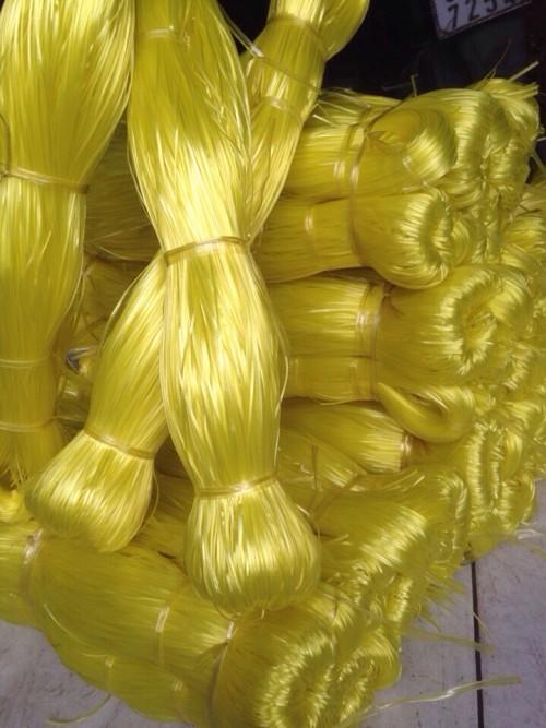 DÂY KẼM NHUYỄN CAO CẤP // dây nhựa pp- pe  cột hàng & mây bao_ ( màu vàng ánh, xanh lá, đỏ tươi, dương lam, đen bóng mun