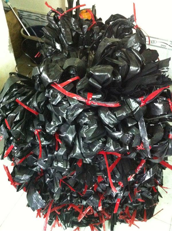 dây nilon đen