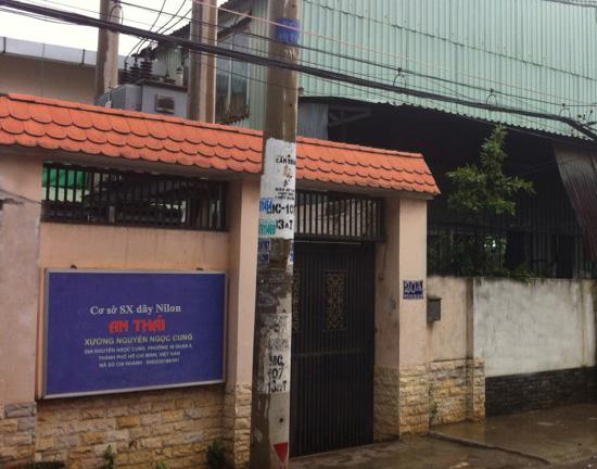 Cơ sở sản xuất dây nilon An Thái